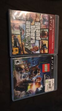 two PS3 game cases and two game cases Maple Ridge, V2X 7T5