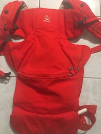 Brand new (never used) STOKKE mycarrier front baby carrier in red Toronto, M9L 1H1