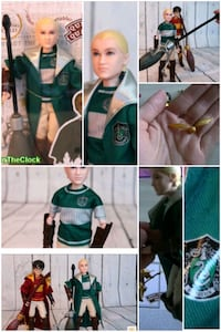 Harry Potter QUIDITCH DRACO MALFOY 1/6 figür