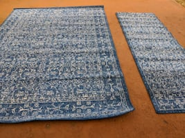Bodrum Carpet with Matching Runner Rug