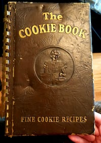 1939 The Cookie Book by Nellie Watts