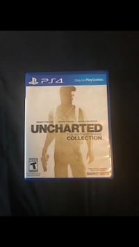 Uncharted The Nathan Drake Collection PS4 game case Houston, 77076