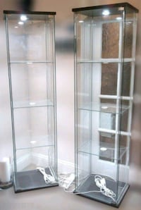 GLASS DISPLAY CASE WITH LED LIGHTING Point Edward, N7V 1E3