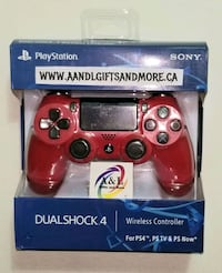 Red PS4 Controller NEW London, N5W 3P3