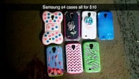 six assorted color iPhone cases Sioux Falls, 57105