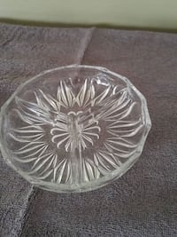clear cut glass bowl with lid Laval, H7W 2R8