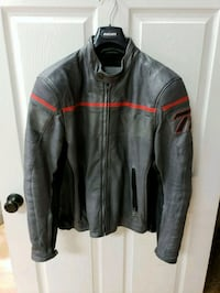 Dainese size 52 grey leather jacket  Anaheim, 92807