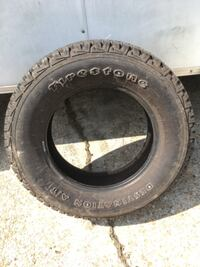 Firestone destination A/T tire null