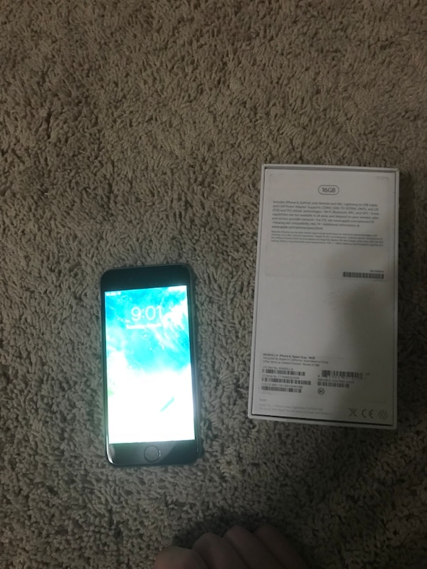 iPhone 6 space gray 16gb(mail scammers beware)