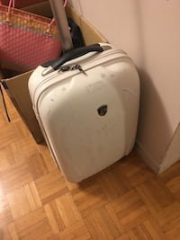 Small Suitcase (White)  Toronto, M1W 2R7
