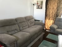 recliner Sofa and love seat Quincy