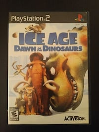 PS2 Ice Age Dawn of the Dinosaurs Vaughan, L4L