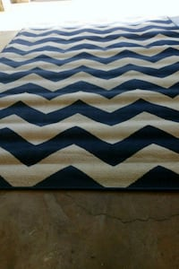Chevron Outdoor Rug 7 ft by 10ft Citrus Heights, 95621