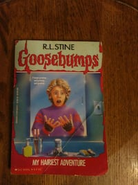 Goosebumps My Hairiest Adventure by R.L Stine book