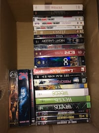 Box of tv series on Dvd
