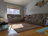 3 yr old recliner sofa and love seat, very comfy and sturdy Murray, 84107