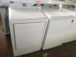 SAMSUNG top load Washer and dryer set working perfectly