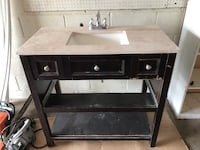 "36"" Bathroom Vanity and Faucet Toronto, M3M 2K3"