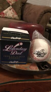 Legendary dad collectors baseball with box Gainesville, 20155
