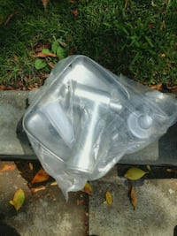 white and black plastic container Sherman Oaks, 91403