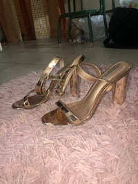 Size 11 rose gold heels Silver Spring, 20903