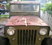 1953 Willys Jeep.