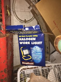 Halogen work light ( have 2 of them) Barberton, 44203