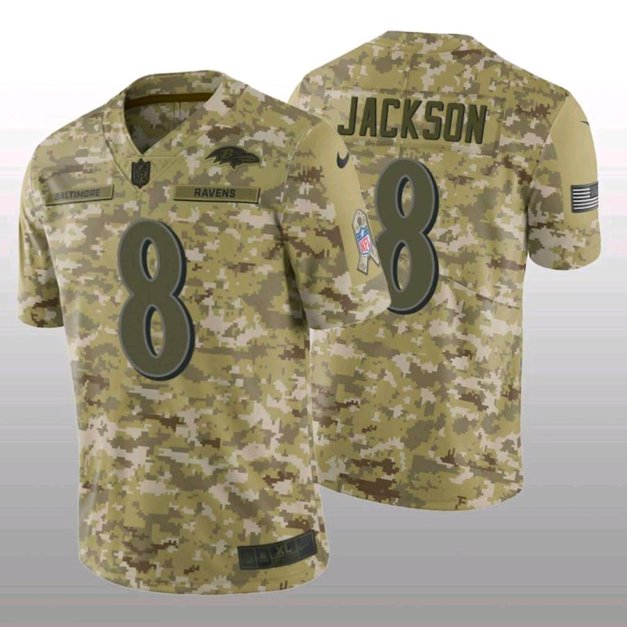 Baltimore Ravens salute to service jerseys