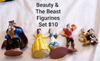 Beauty & the Beast figurines - $10 Toronto, M9B 6C4