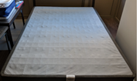 Queen Size Standard Height Box Spring Foundation WASHINGTON