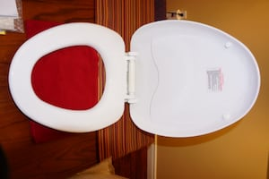 Elongated Toilet Seat (White)