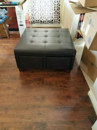 Leather Couch w/4 Drawers  Henderson, 89014