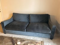 Crate and Barrel couch microfiber (less than a year old) Virginia Beach, 23456