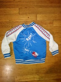 Embroidered Evel Knievel Circus Themed Bomber Jacket - Crazy Graphic  Milwaukee
