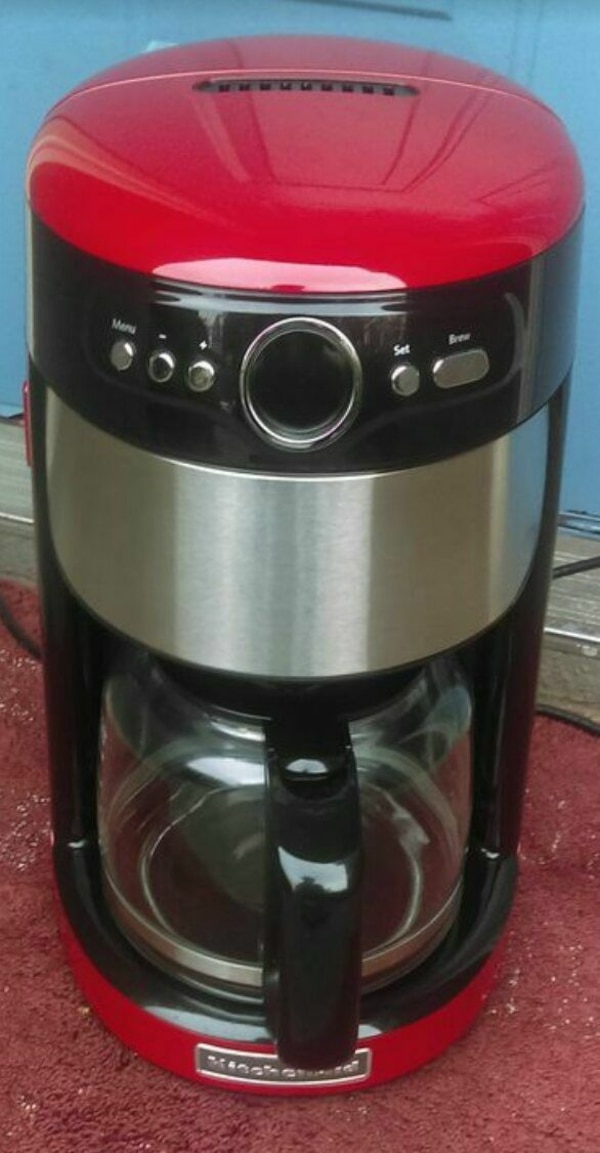 Cool Kitchenaid Coffee Maker Red Works Perfectly Home Remodeling Inspirations Gresiscottssportslandcom