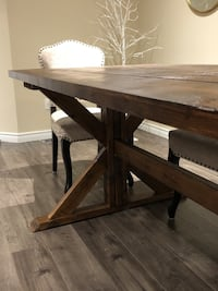 New - Trestle / Farmhouse Dining Table