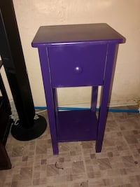 Purple small table