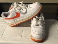 pair of white Nike Air Force 1 low Washington, 20016
