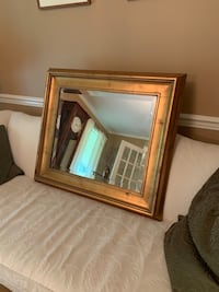 Antiqued gold beveled mirror West Chester, 19382