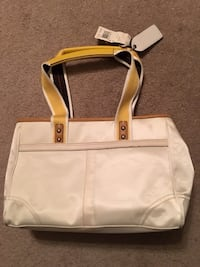 White Coach Purse for Sale-Perfect for a gift Willowbrook