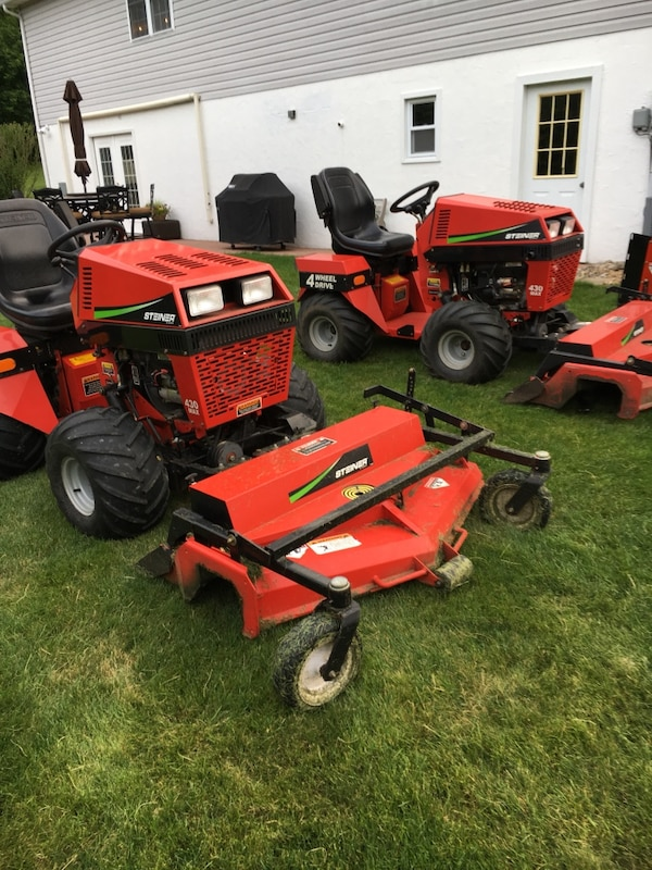 Steiner & Ventrac 4100 units for sale & I will buy