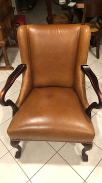 Leather Wing Chair Alexandria, 22304