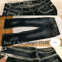 Rock n' Roll Cowgirl Jeans 27x34 *Reduced $20*