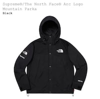 Supreme/ the north face arc logo mountain parka  Kelowna, V1P 1R8