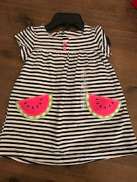 Carters Girls Dress and shorts 6 months  Toronto, M3H 3S6