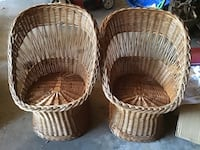 Set of wicker chairs Dearborn, 48124