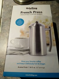 Frieling Stainless Steel Insulated French Press
