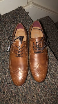 pair of brown leather dress shoes Lincoln, 68521