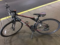 black and red GT Vantana Hybrid Racing Bike Richmond, V6X 4J7