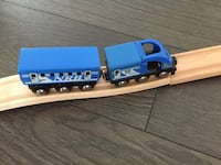 Wooden train Set by Toys R Us Vancouver